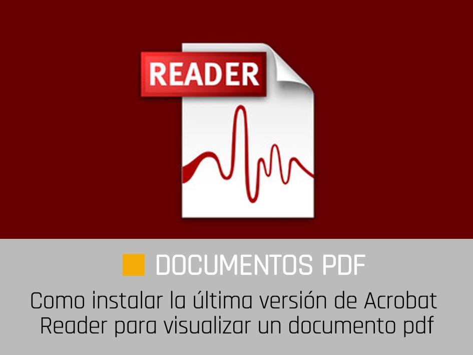 Descargar e Instalar Acrobat Reader