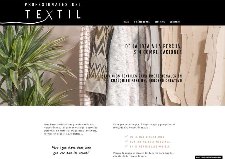 Web Profesionales del Textil